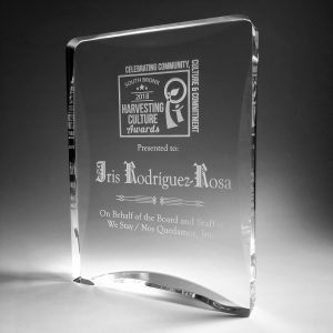 WE ARE MELROSE 2018 Awards Plaque
